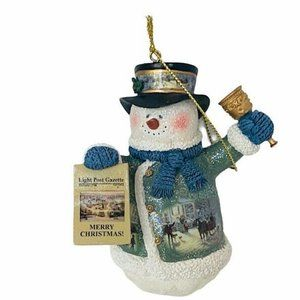 Thomas Kinkade Christmas Ashton Drake ornament vtg